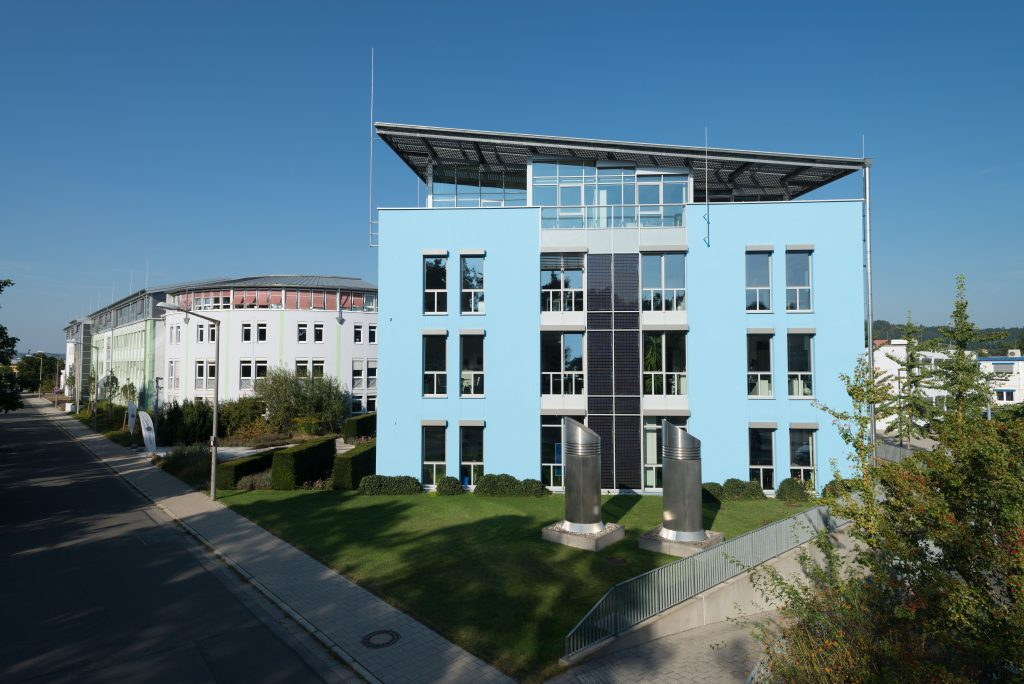 Hauptgebäude von Bionorica