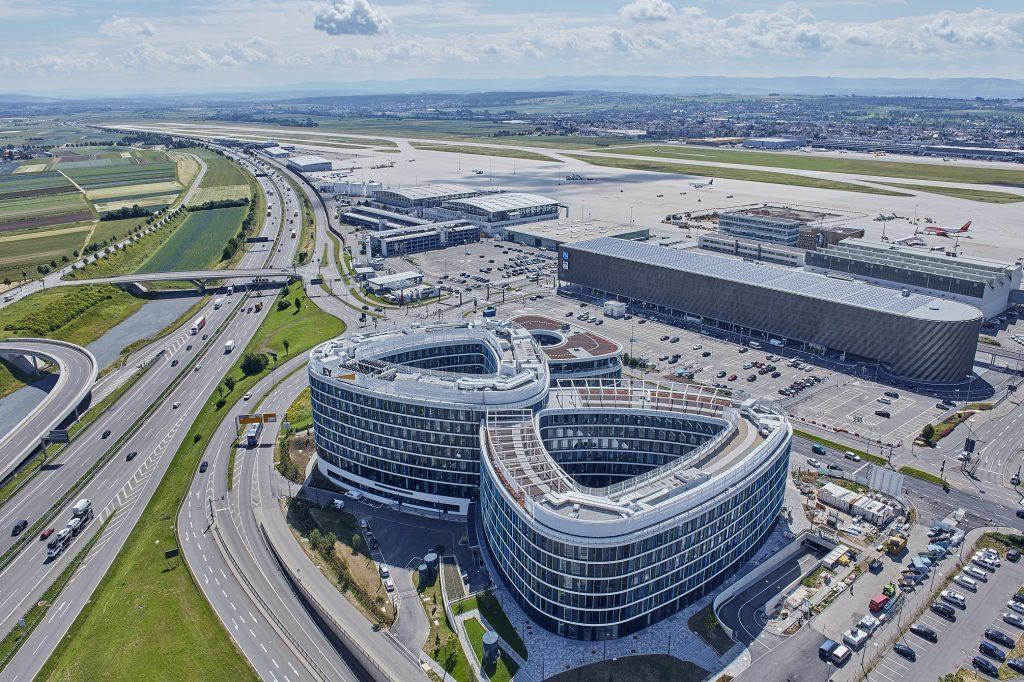 Skyloop auf dem Flughafen Stuttgart